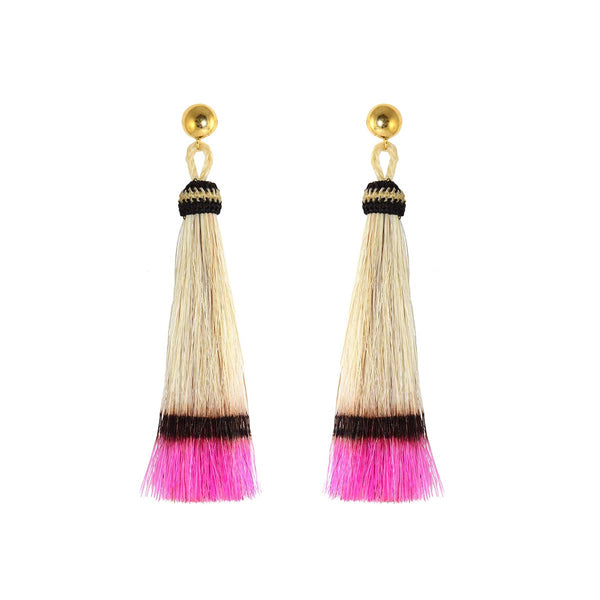 Hissan Pink Earrings | Miccy's | Fashion Accessories | Earrings