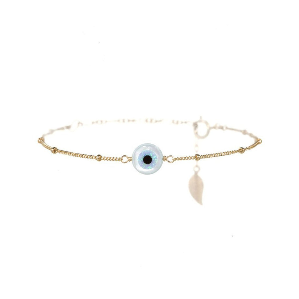 Small Round Eye Bracelet | Bara Boheme | Fashion Accessories | Bracelet