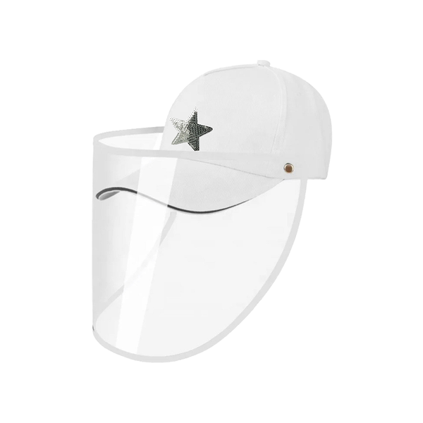 White Baseball Cap | Gemelli | Fashion Accessories | Hair