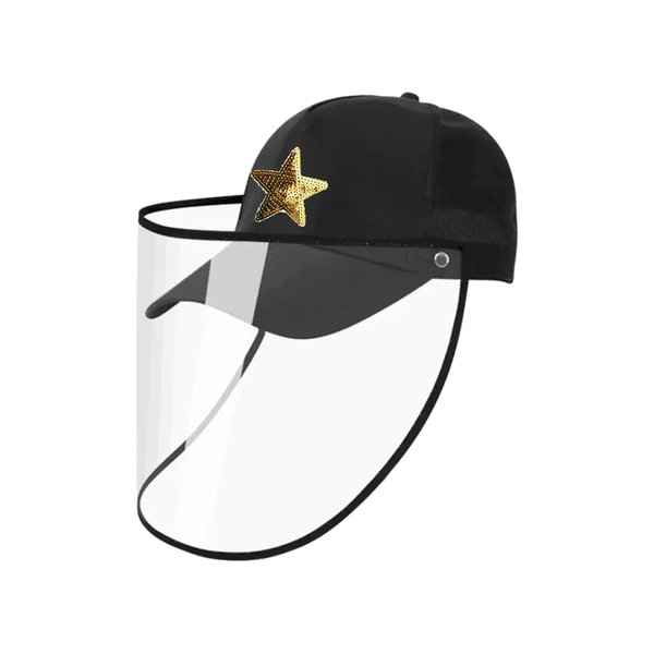 Black Baseball Cap | Gemelli | Fashion Accessories | Hair