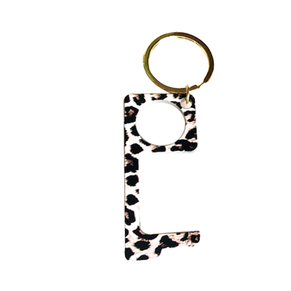 Leopard Keychain | Gemelli | Fashion Accessories | Key Chain