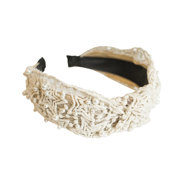 Beige Kylie Headband | Gemelli | Fashion Accessories | Hair