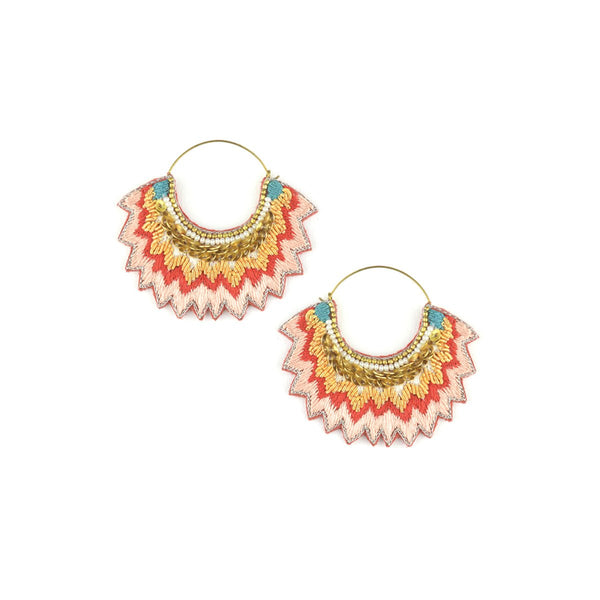 Mandarin  Maria Earrings | Nahua | Fashion Accessories | Earrings
