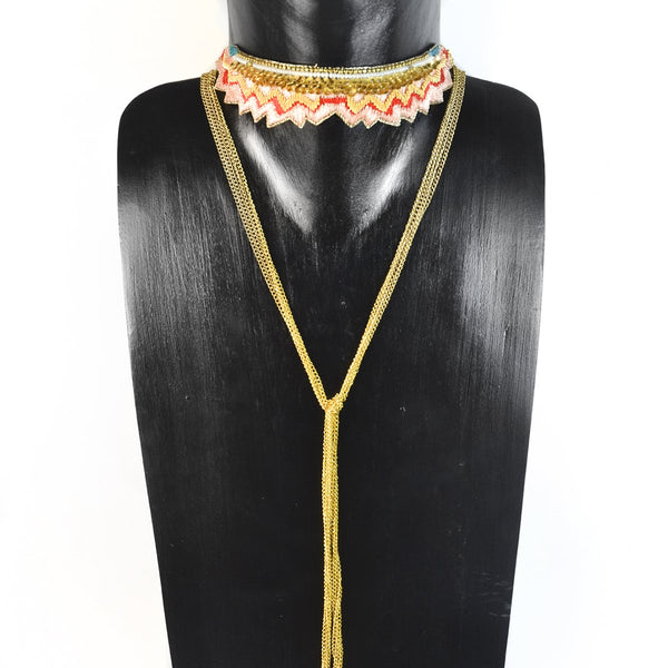Mandarin Mahi Necklace | Nahua | Fashion Accessories | Necklaces
