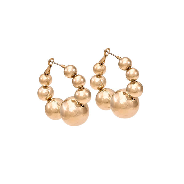 Balls Hoops Earrings | Anton Heunis | Fashion Accessories | Earrings