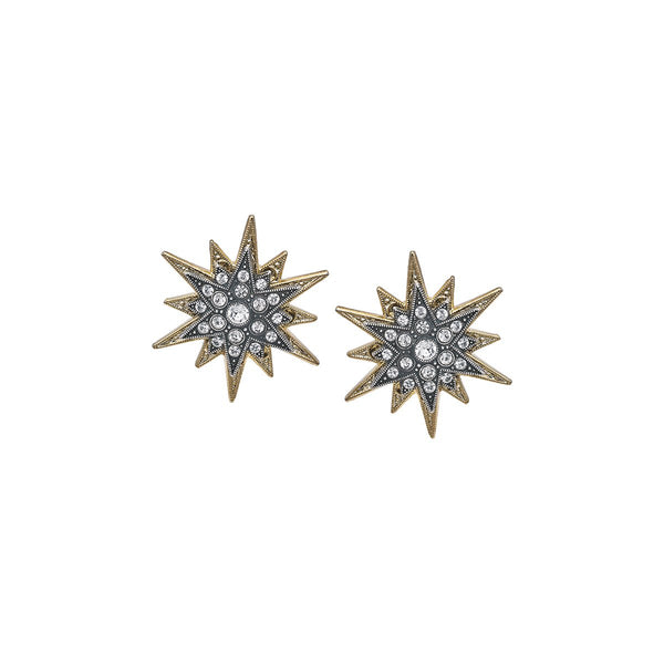 Double Star Clasp Earrings | Anton Heunis | Fashion Accessories | Earrings