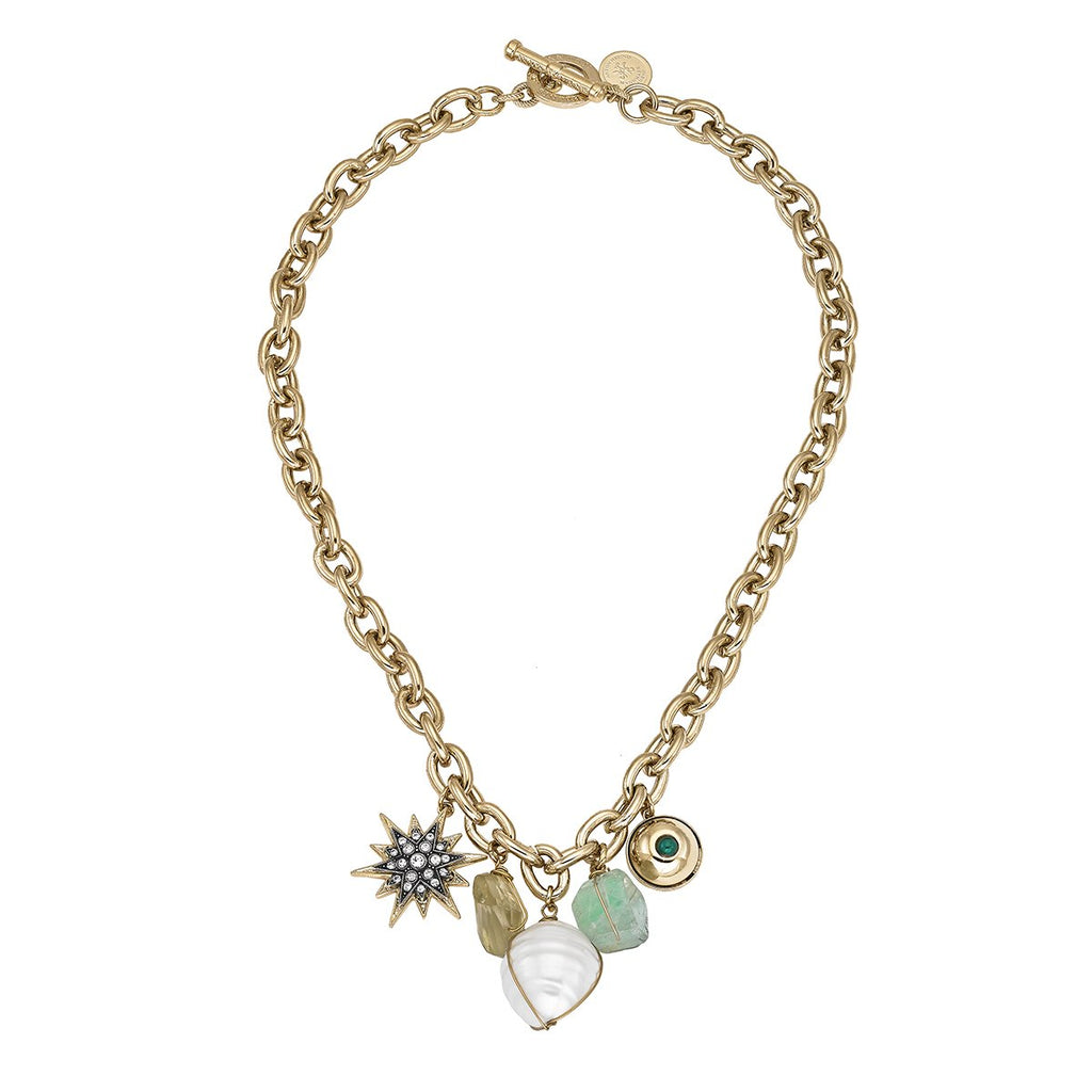 Multi Charms Chain Necklace | Anton Heunis | Fashion Accessories | Necklace