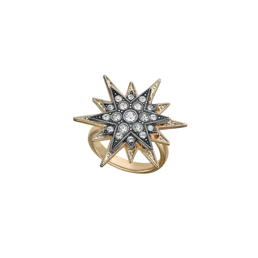 Double Star Ring | Anton Heunis | Fashion Accessories | Rings