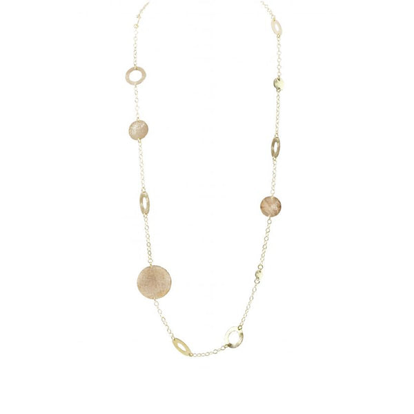 Various Disc Necklace | Marcia Moran | Fashion Accessories | Necklaces