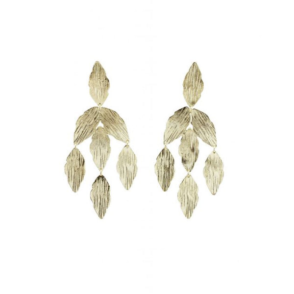 Textured Marquise Earrings | Marcia Moran | Fashion Accessories | Earrings