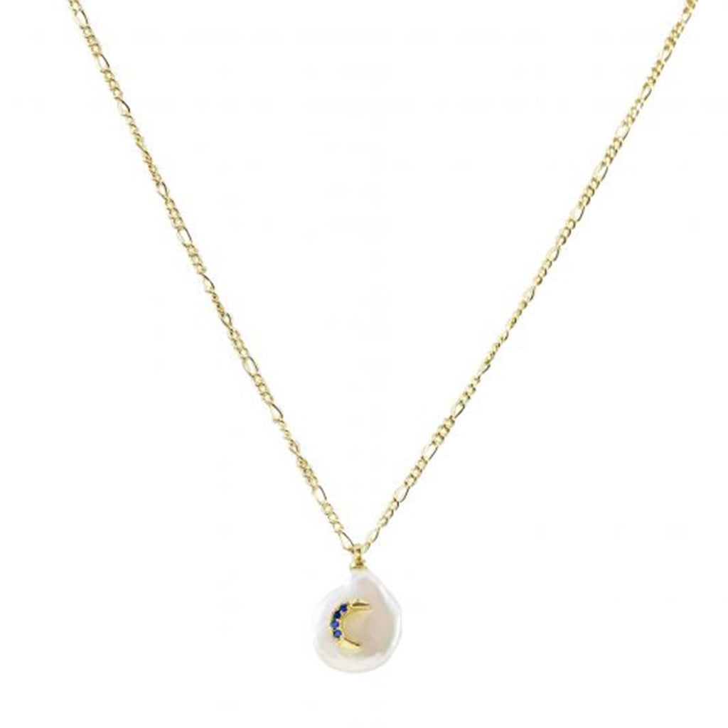 Pearl With Moon Necklace | Marcia Moran | Fashion Accessories | Necklaces