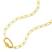 Carabiner Lock Necklace | Boom & Mellow | Fashion Accessories | Necklace