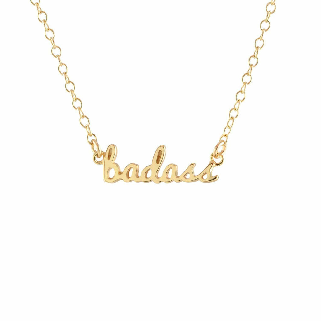 Badass Charm Necklace | Kris Nations | Fashion Accessories | Necklace