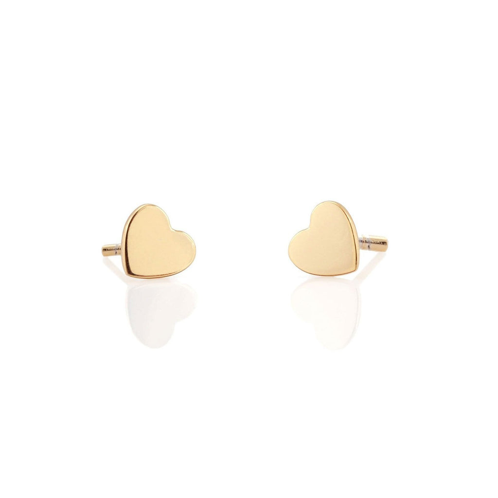 Heart Stud Earrings | Kris Nations | Fashion Accessories | Earrings