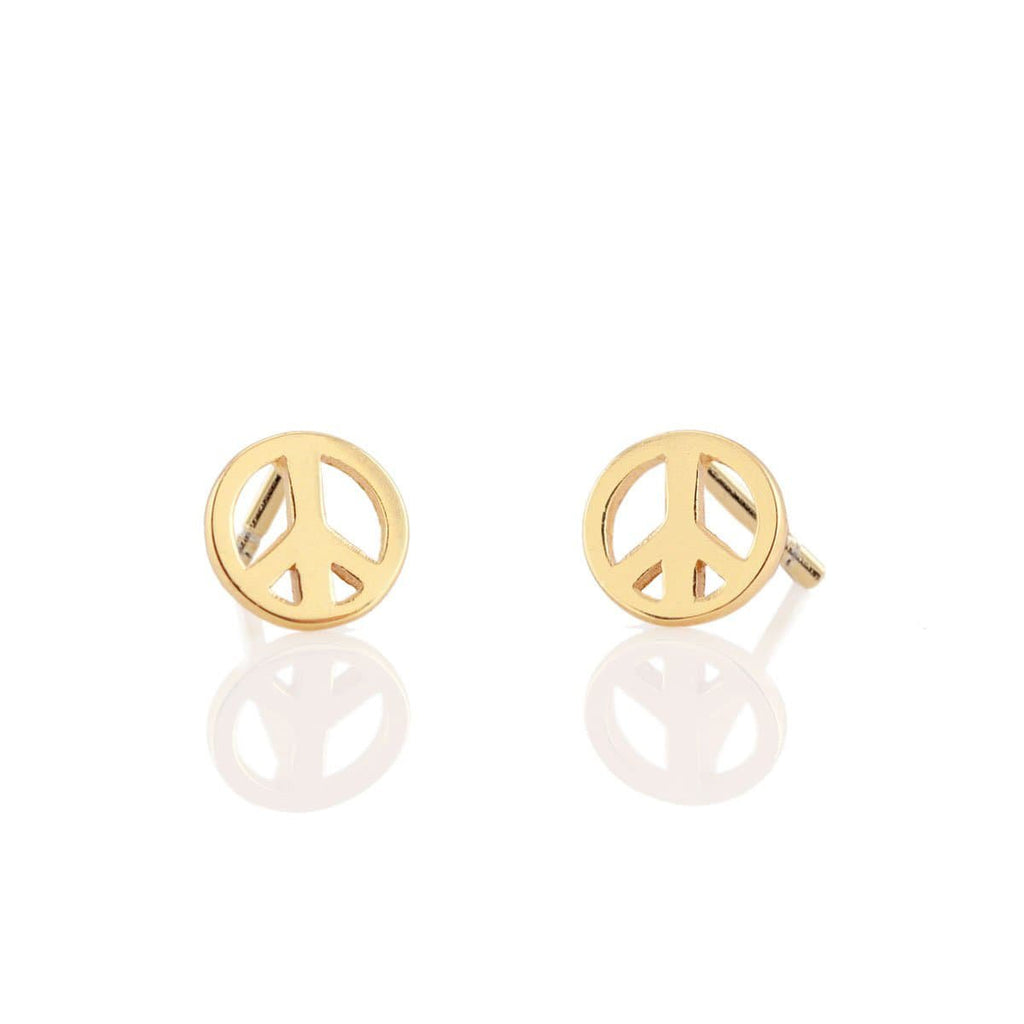 Peace Sign Stud Earring | Kris Nations | Fashion Accessories | Earrings