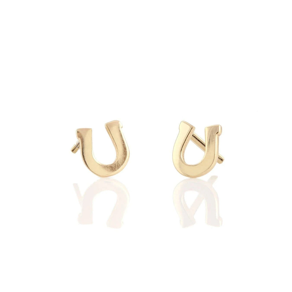 Horseshoe Stud Earring | Kris Nations | Fashion Accessories | Earrings