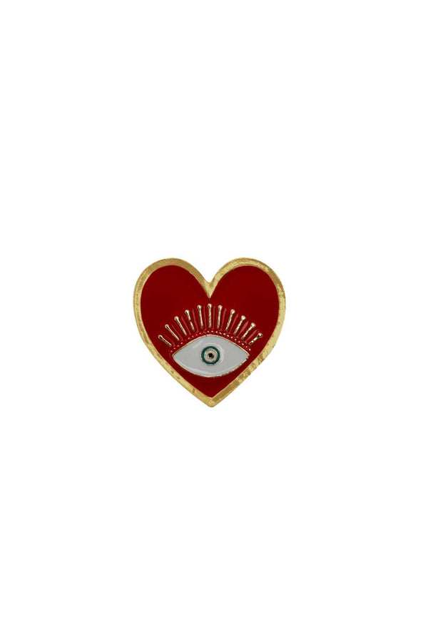 Red Heart Shape Ring | You & Eye | Fashion Accessories | Ring