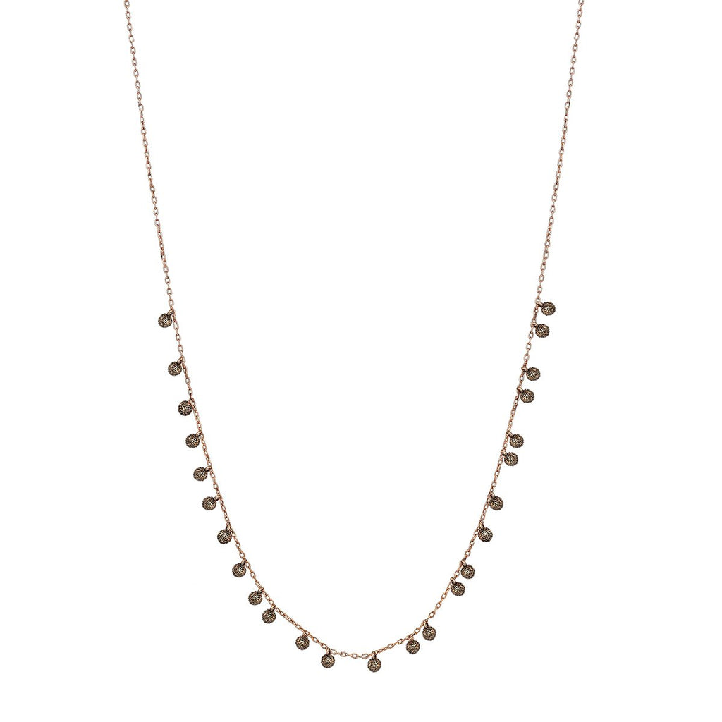 14K Rose Gold Orta Karabiber Duz Altin Kolye Necklace | Kismet by Milka | Fine Jewelry | Necklace