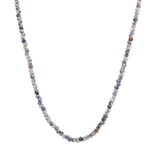 18K Gold Tanzanite Necklace | Boom & Mellow | Fine Jewelry | Necklace
