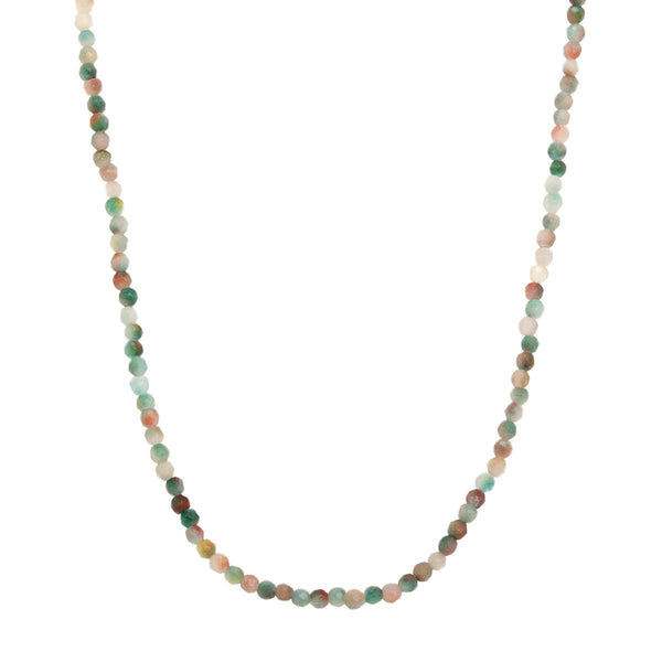 18K Gold Multi Stone Necklace | Boom & Mellow | Fine Jewelry | Necklace