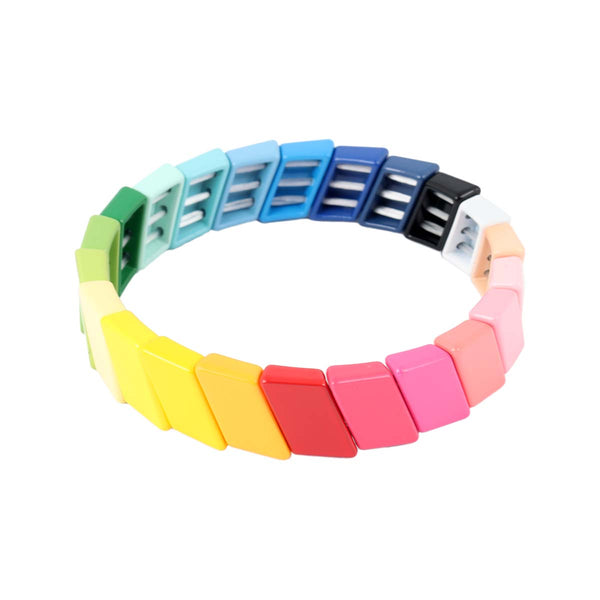 Rectangular Tile Bracelet | Boom & Mellow | Fashion Accessories | Bracelets