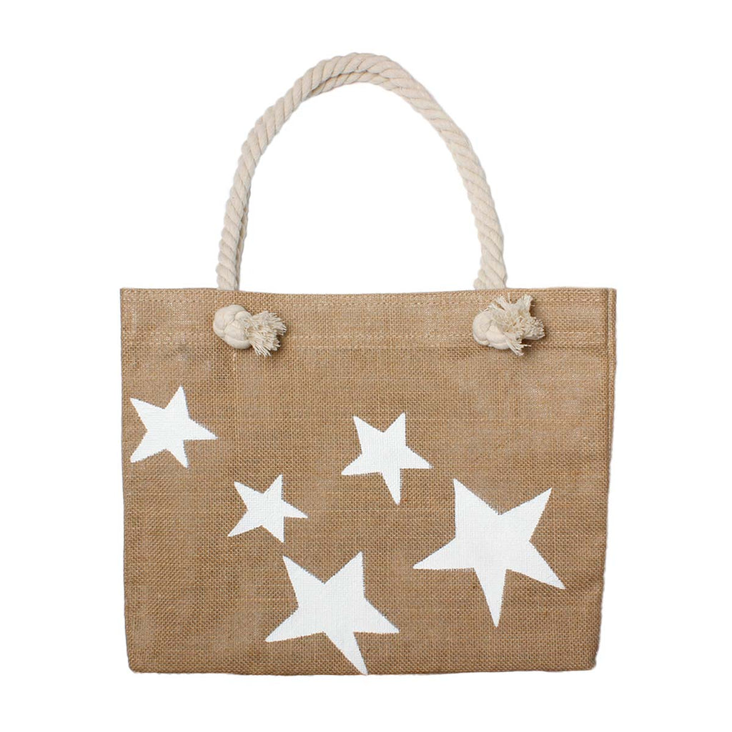 White stars beach bag | City Girl | Bag | Beach Bag