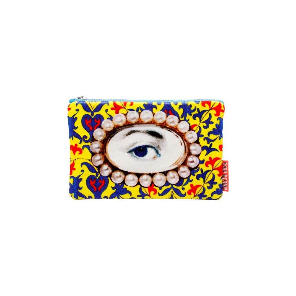 Small pearl eye clutch | Corita Rose | Bag | Clutch Bag