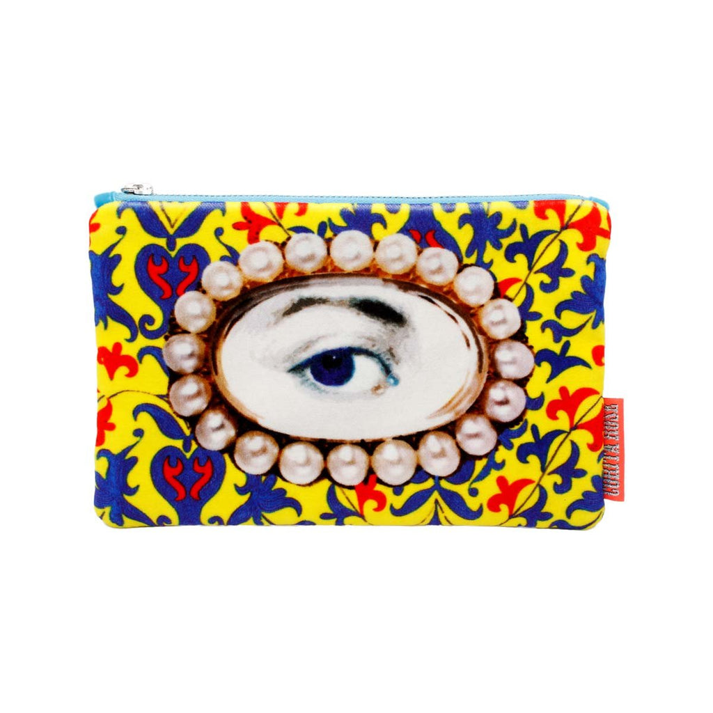 Large pearl eye clutch | Corita Rose | Bag | Clutch Bag