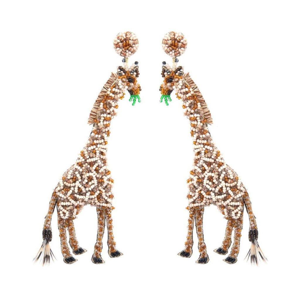 Giraffe Earrings | Deepa Gurnani | Fashion Accessories | Earrings