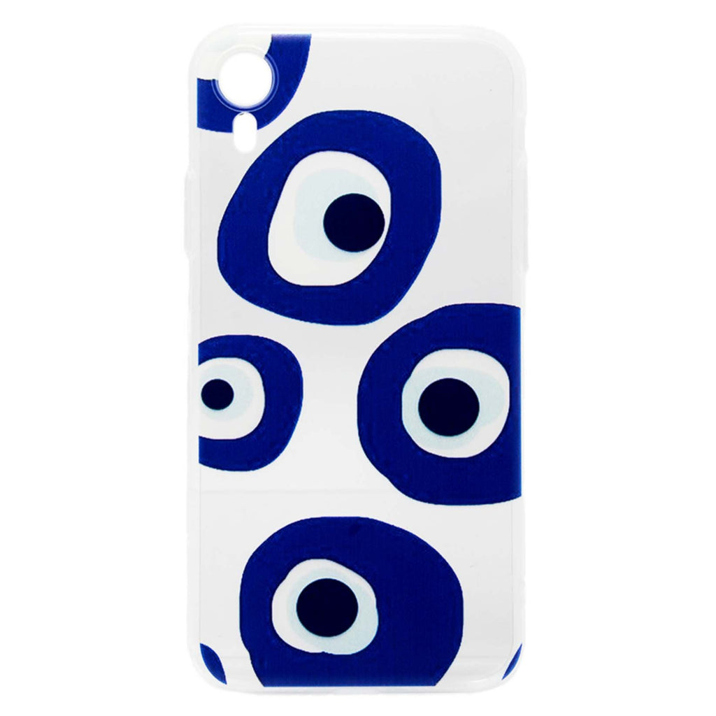 Iphone Xr Blue Melted Eyes Transparent Case | You & Eye | Mobile Accessories | Phone Cover