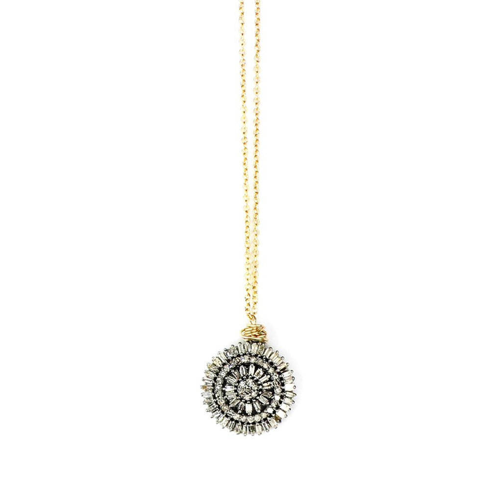 Baguette Coin Short Necklace | Bloom Jewelry | Fashion Accessories | Necklace