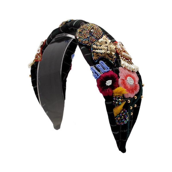 New Jessica Panther Black Headband | Joey & Pooh | Fashion Accessories | Hair