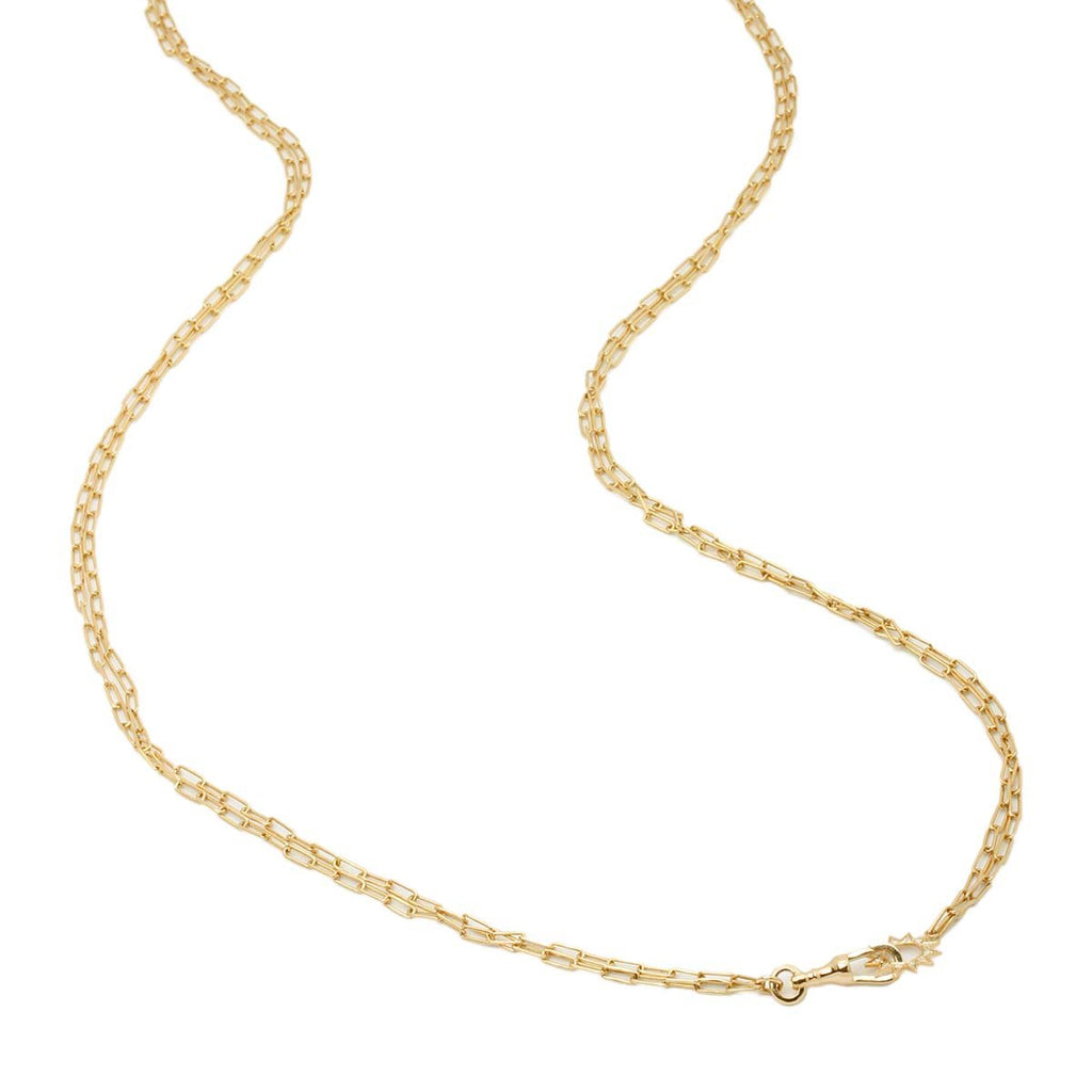 18K Gold Luminicity Long Necklace | Stone | Fine Jewelry | Necklace