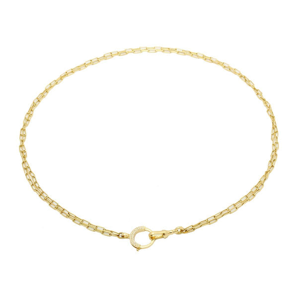 18K Gold Destiny Necklace | Stone | Fine Jewelry | Necklace