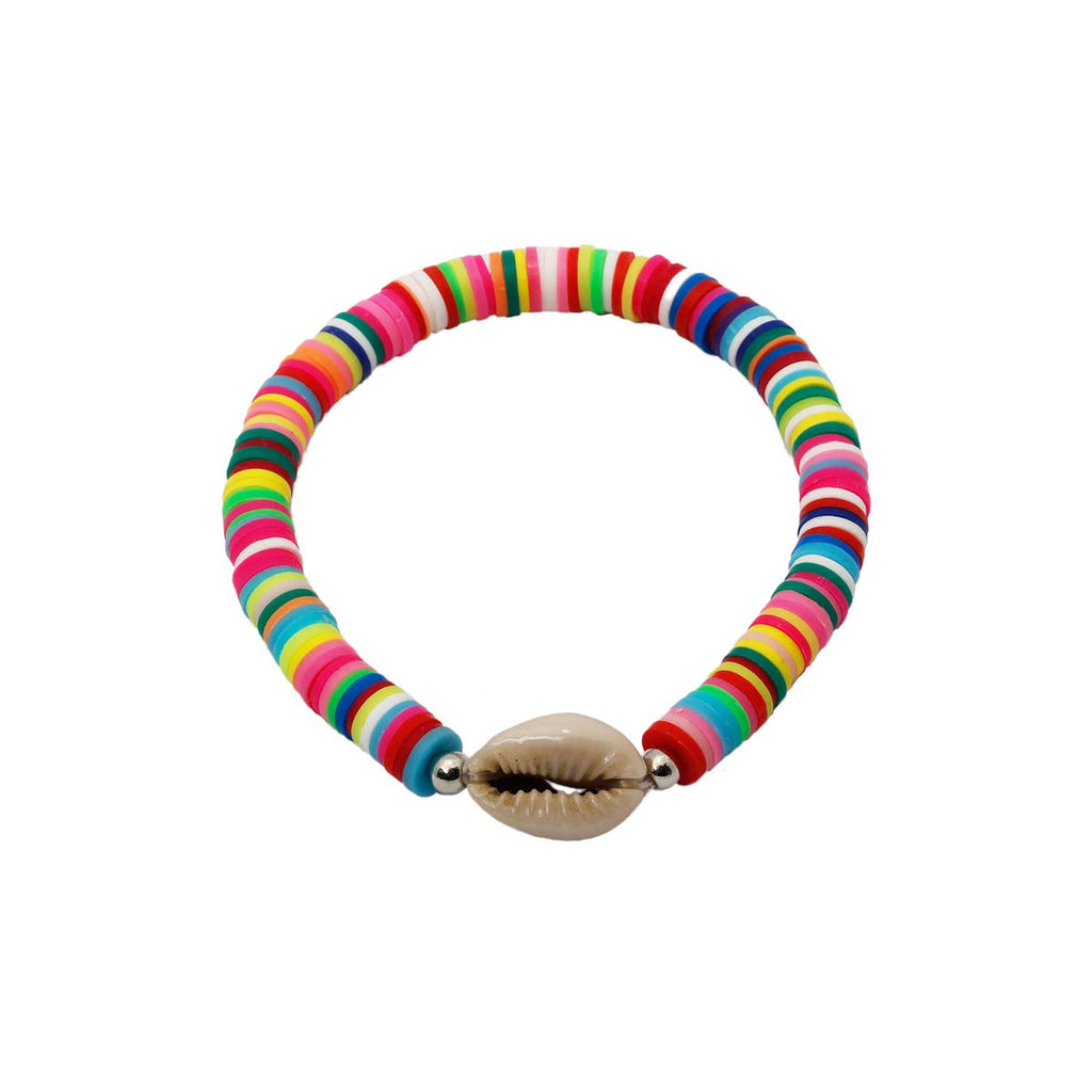 Cowrie Shell Stretch Bracelet | Boom & Mellow | Fashion Accessories | Bracelet