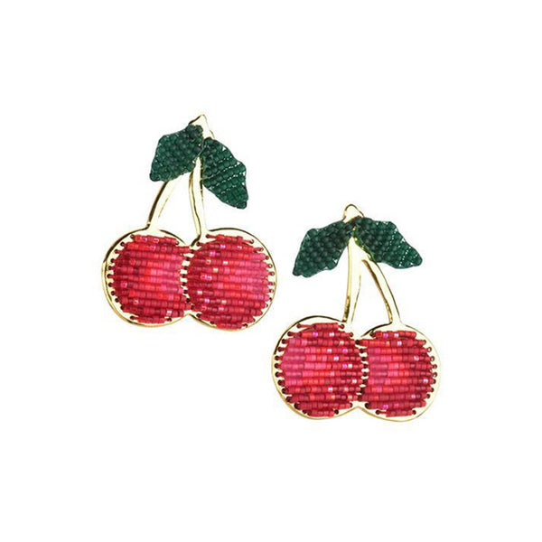 Lucky Cherries Earrings | Mishky | Fashion Accessories | Earrings