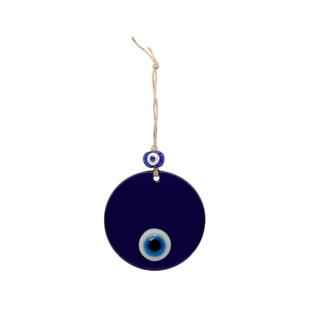 10 Cm Turquoise Glass Evil Eye Wall Hanging | You & Eye | Home Accessories | Decoration