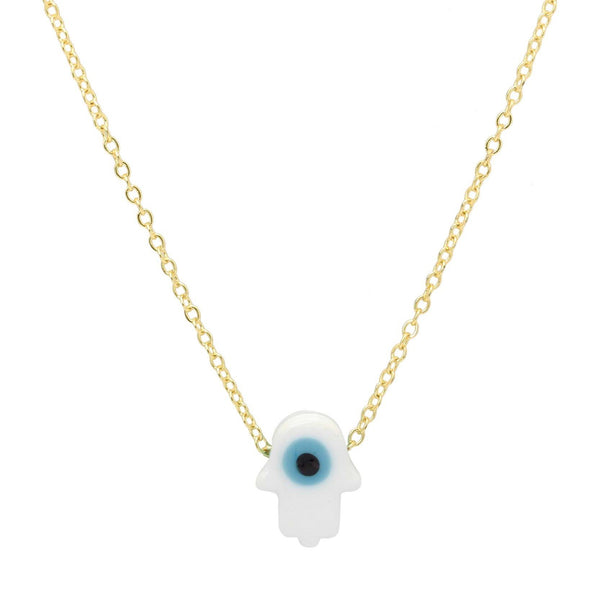 Hamsa Evil Eye Necklace | You & Eye | Fashion Accessories | Necklace
