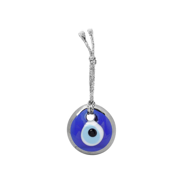 Silver Rim Evil Eye Decoration | You & Eye | Home Accessories | Decoration