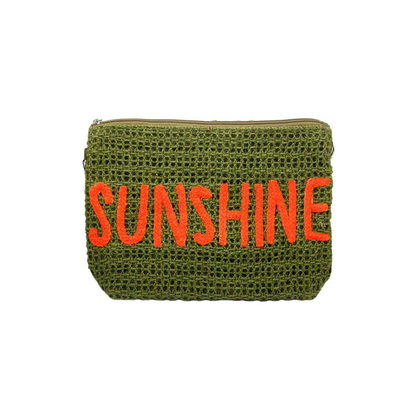Sunshine Green Clutch Bag | Alex.Max | Bag | Clutch Bag