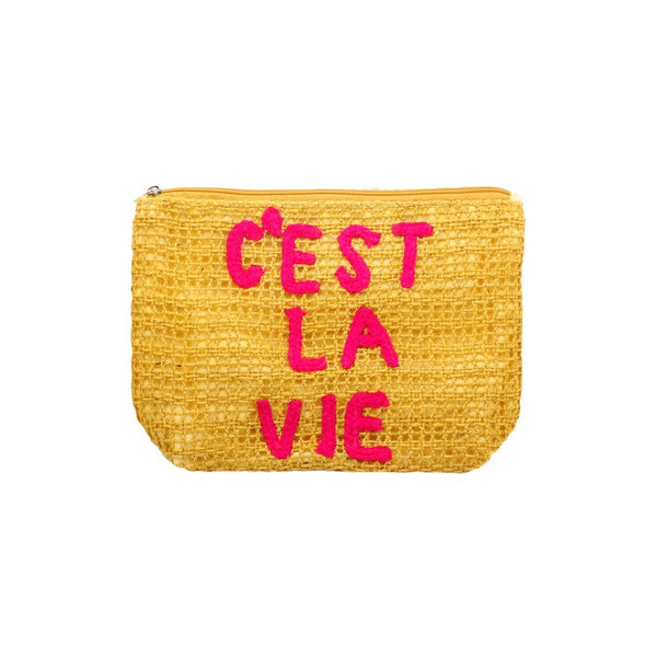 C'Es La Vie Mustard Clutch Bag | Alex.Max | Bag | Clutch Bag