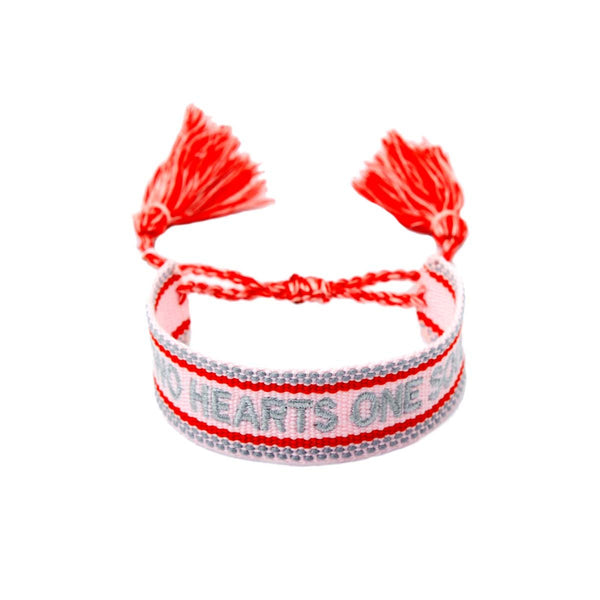 Two Hearts One Soul Bracelet | Boom & Mellow | Fashion Accessories | Bracelet