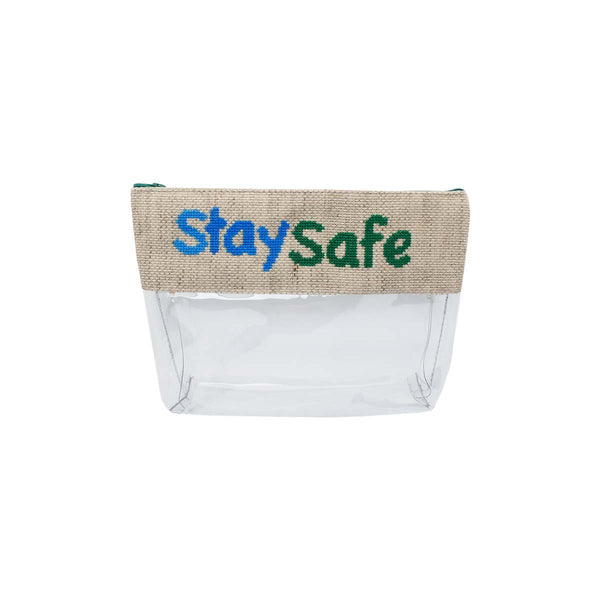 Medium Stay Safe Pouch Bag | Decorate & Donate | Bag | Beauty Cases