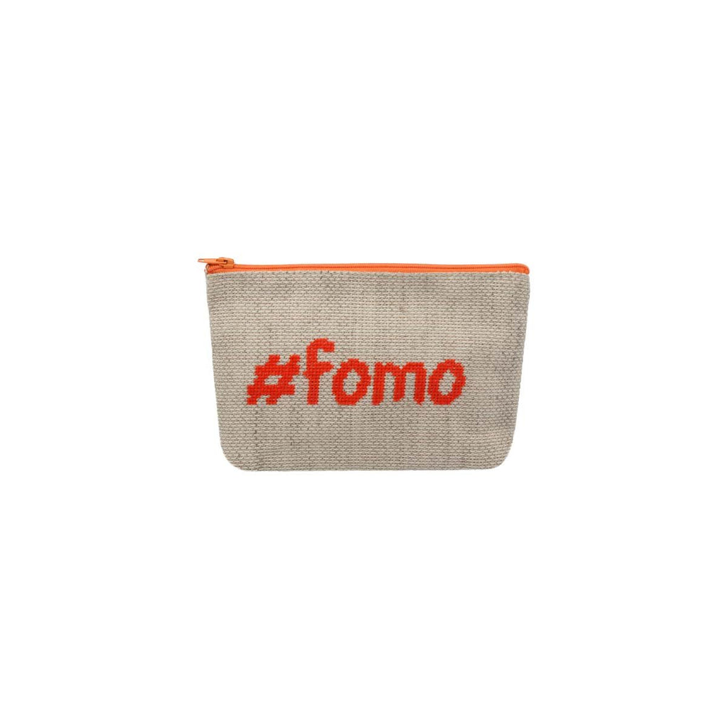 Small #Fomo Pouch Bag | Decorate & Donate | Bag | Beauty Cases