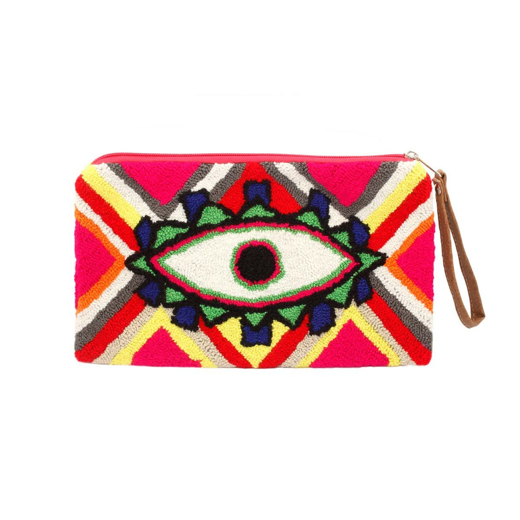 Embroidered Eye Clutch | You & Eye | Bag | Clutch