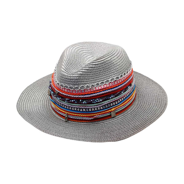 Grey Stallion Panama Hat | Birnayta | Fashion Accessories | Hat