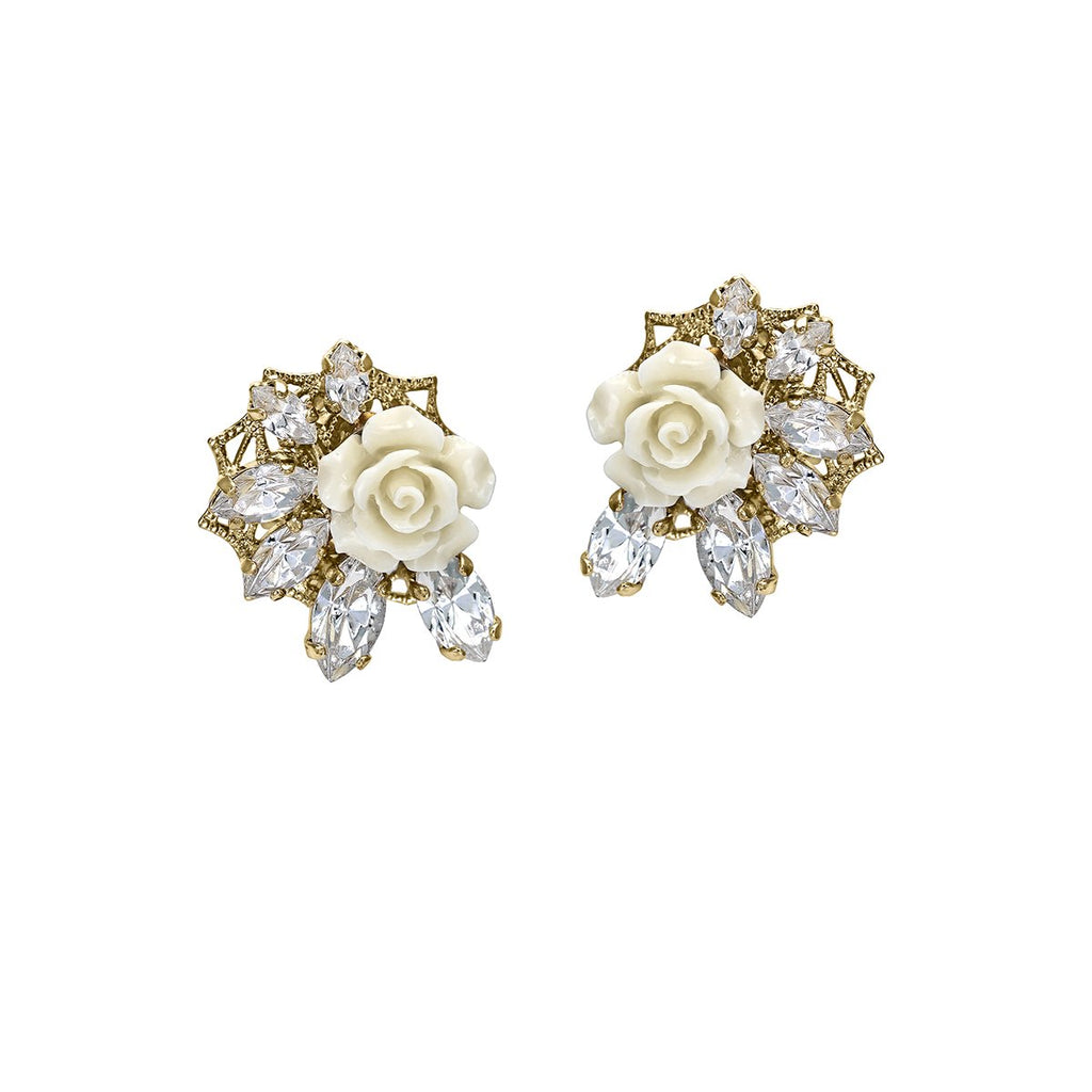 Small Flower Earrings | Anton Heunis | Fashion Accessories | Earrings