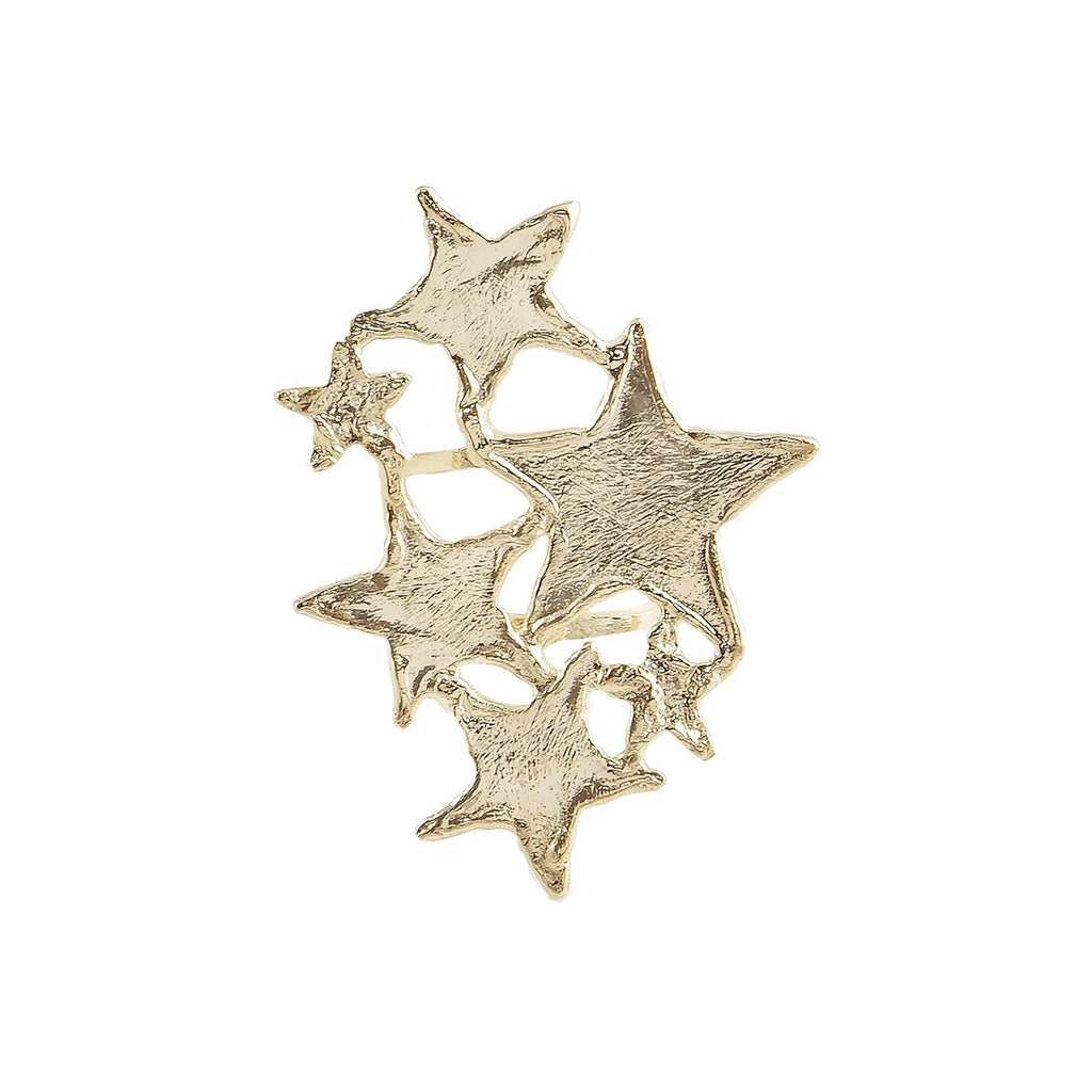 Multi Size Star Statement Ring | Marcia Moran | Fashion Accessories | Ring
