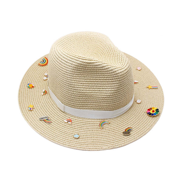 Charm Panama Hat | Bitsandpiecestogo | Fashion Accessories | Hat