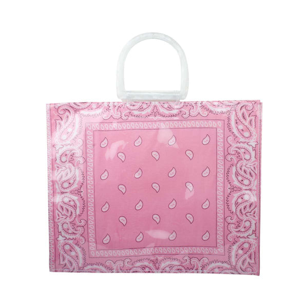 Pink Banda Beach Bag | Bitsandpiecestogo | Bag | Beach bag